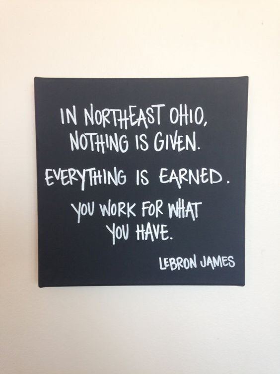 lebron james quotes strive for greatness
