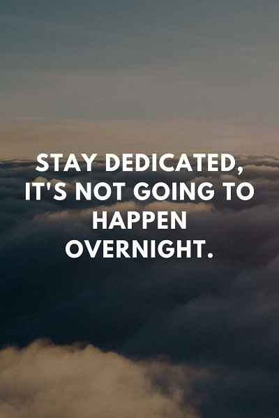 most inspirational quotes about dedication
