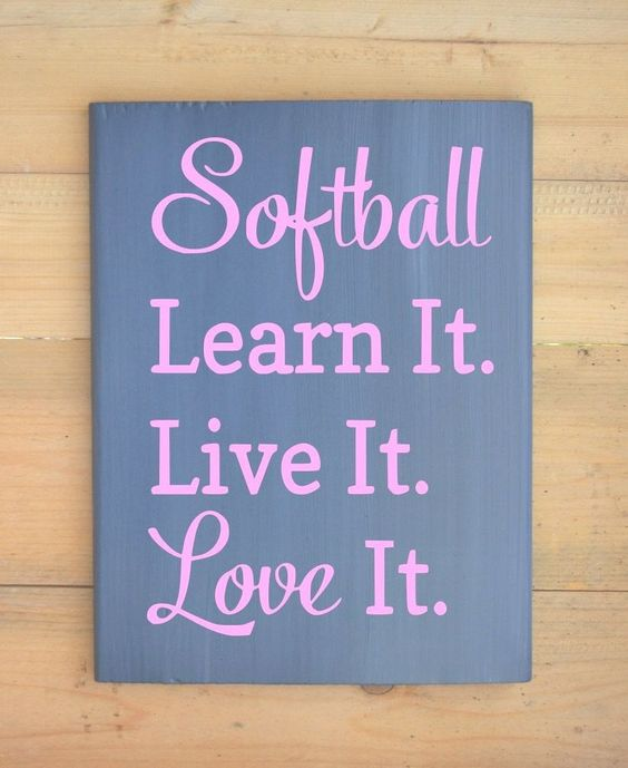 softball quotes and pictures