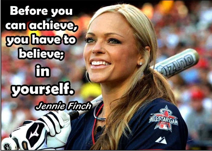 softball quotes by jennie finch