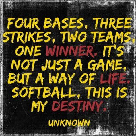 softball quotes motivational