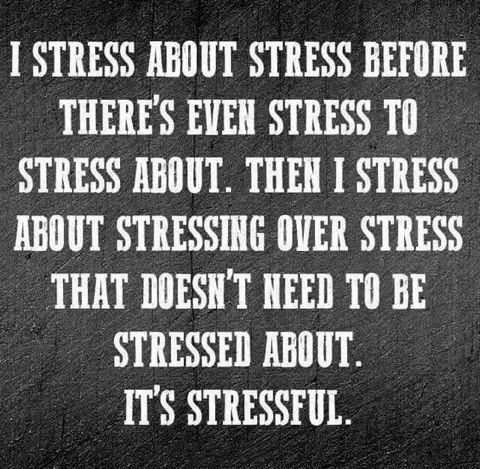 stress quotes funny