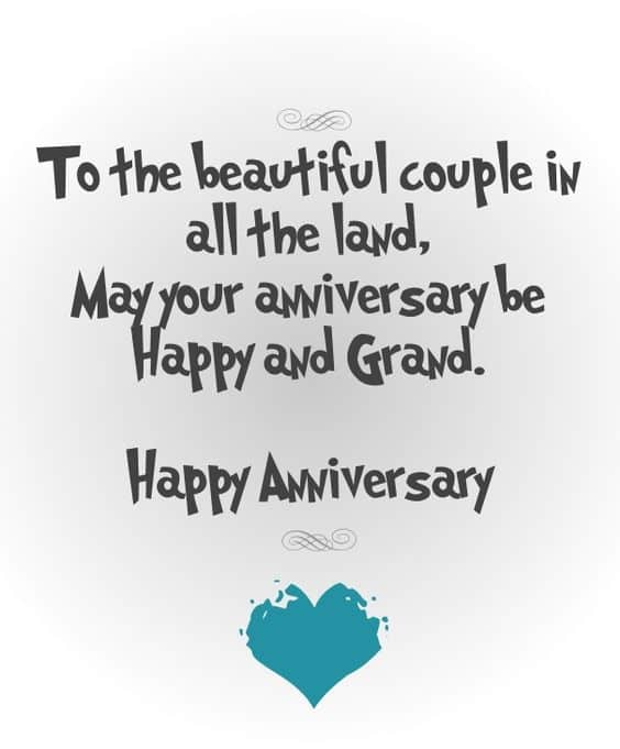 wedding anniversary romantic wishes