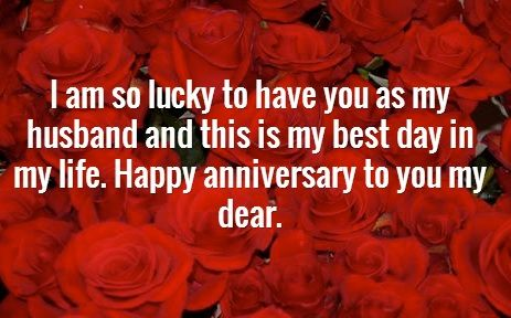 wedding anniversary wishes to husband