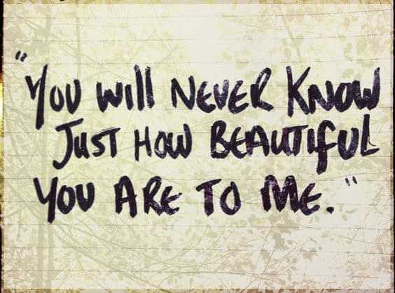 you are beautiful just the way you are quotes
