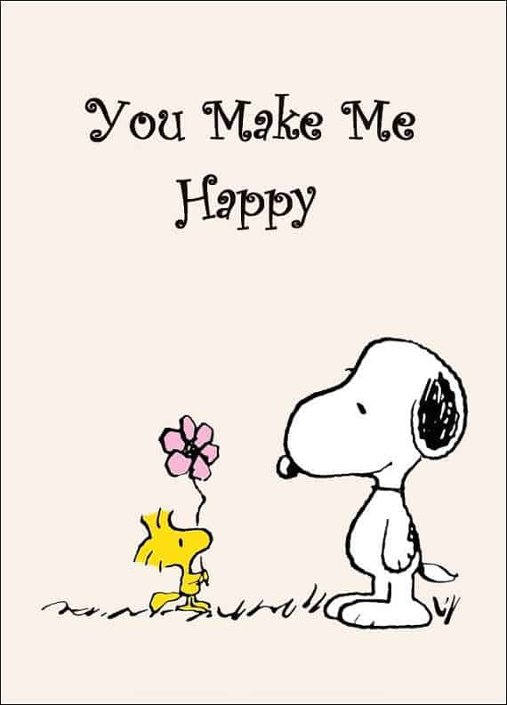 you make me happy sayings
