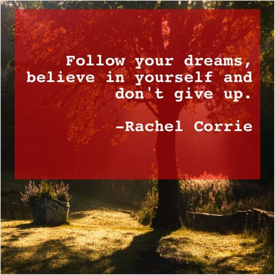 best follow your dreams quotes