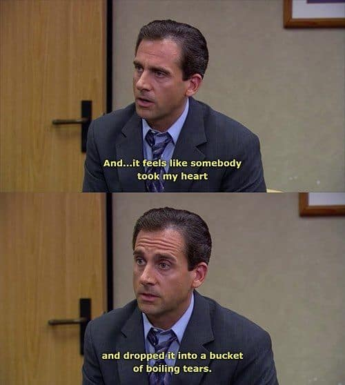 best quotes from michael scott