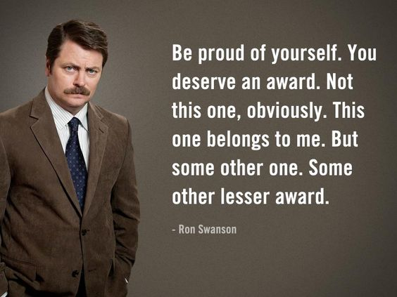 best ron swanson quotes sayings