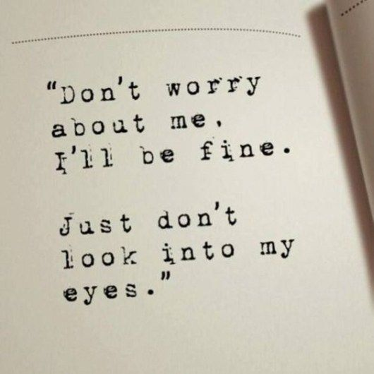 eyes contact quotes