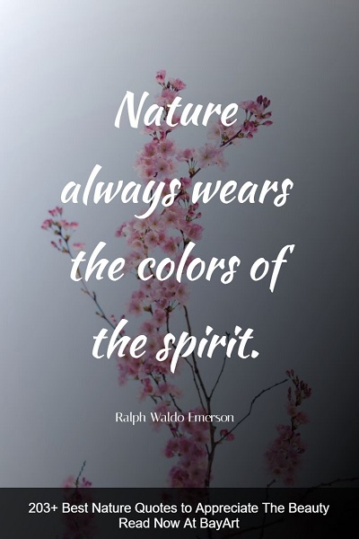famous nature quotes
