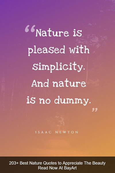 famous quotes on nature