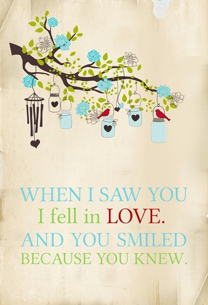 first love quotes and sayings for him