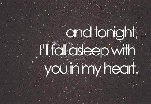 goodnight my love paragraphs for her