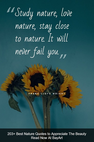 inspirational nature quotes and sayings about Mother Earth's beauty