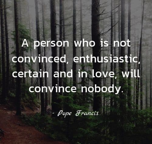inspiring pope francis quotes