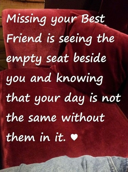 96 Best I Miss My Best Friend Quotes For Missing Friends Bayart
