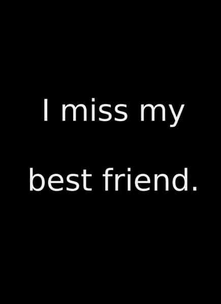 96+ Best I Miss My Best Friend Quotes For Missing Friends ...