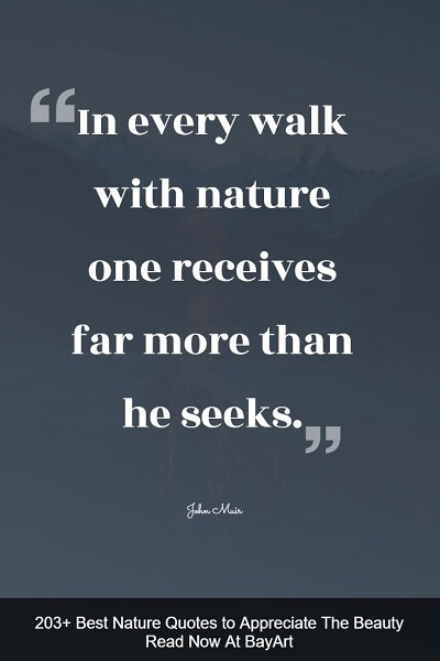 most famous nature quotes about Mother Earth's beauty