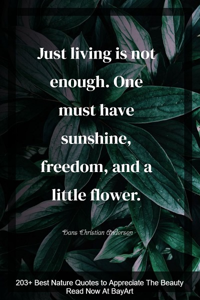 most famous nature quotes of all time