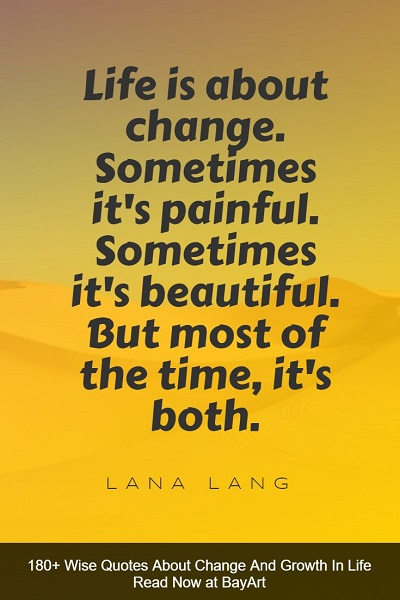 most inspiring change quotes in life