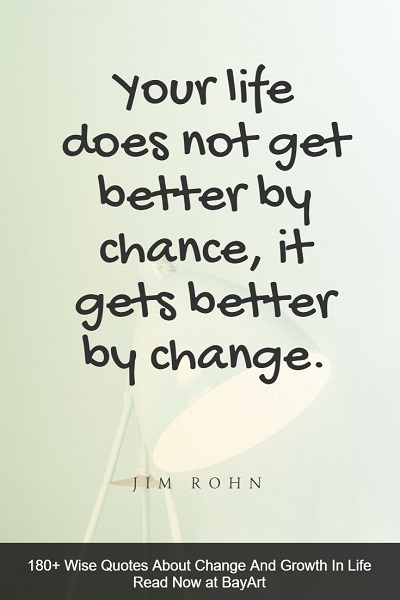 most motivating change quotes about life