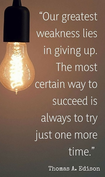 never ever give up quotes on life