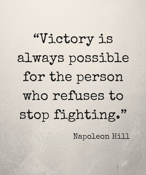 never give up quotes images