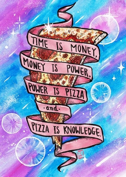 parks and rec quotes about pizza