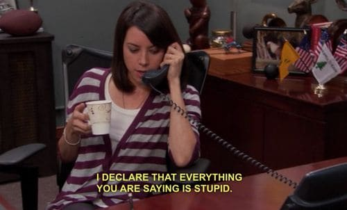 parks and rec quotes by april ludgate
