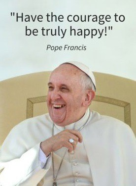 pope francis quotes on happiness