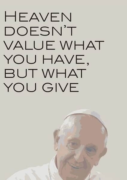 pope francis sayings with pictures