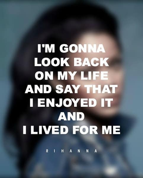 rihanna quotes about regret