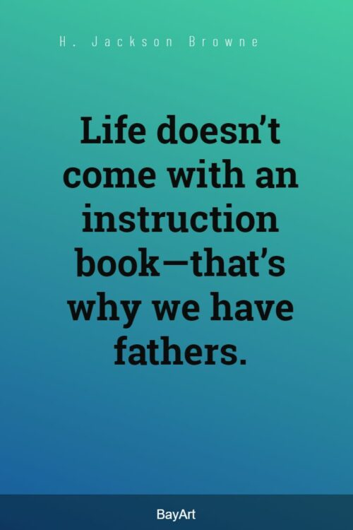 son to father quotes
