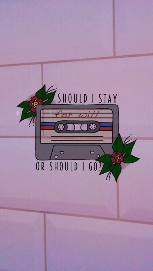 stranger things quotes should I stay