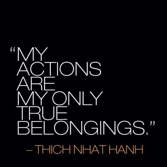 thich nhat hanh quotes about real happiness