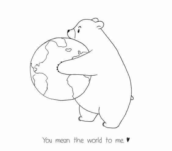 u mean the world to me quotes for her