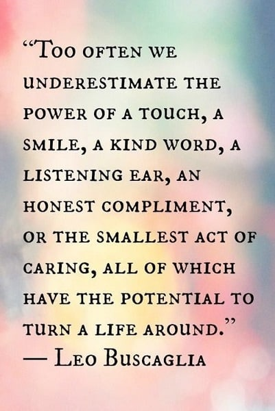 caring others quotes