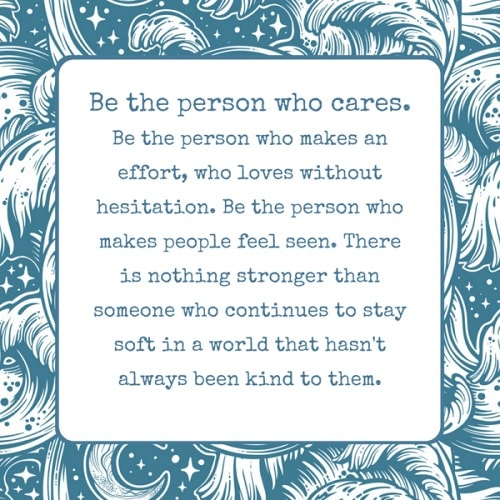 caring someone quotes