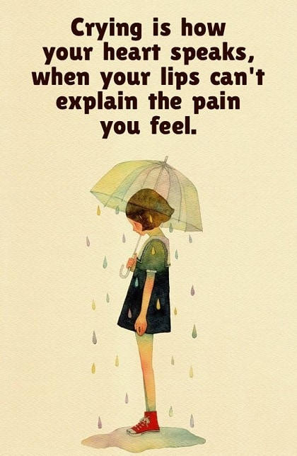 crying thoughts quotes