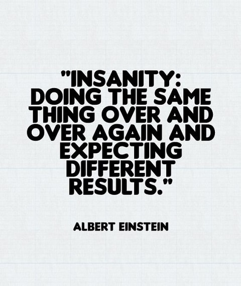 einstein quotes on insanity