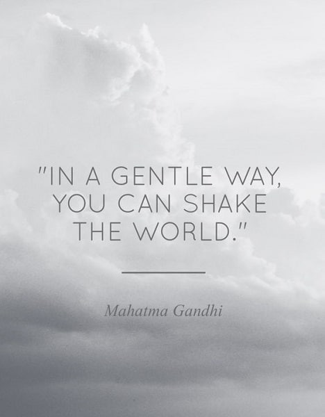 gandhi quotes on life