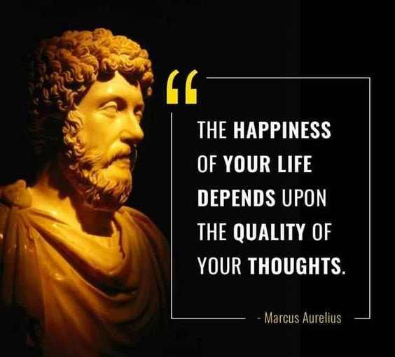 marcus aurelius quotes about happiness