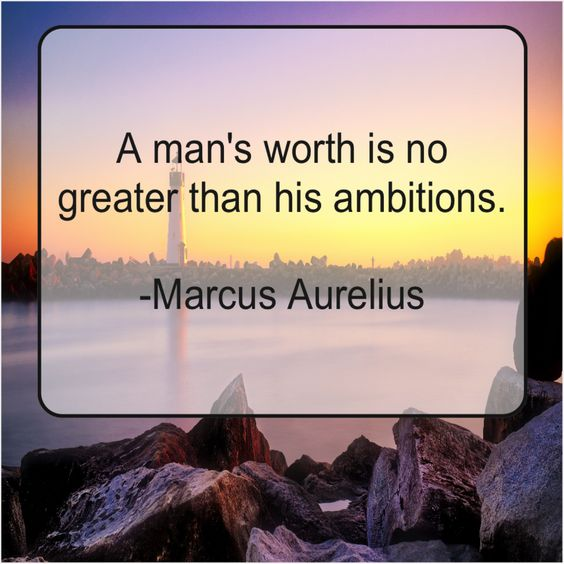 marcus aurelius quotes ambition