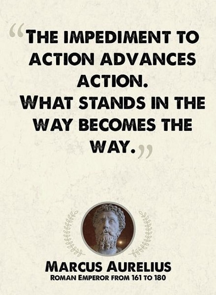 marcus aurelius quotes obstacle is the way
