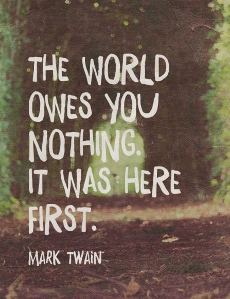 mark twain quotes about world