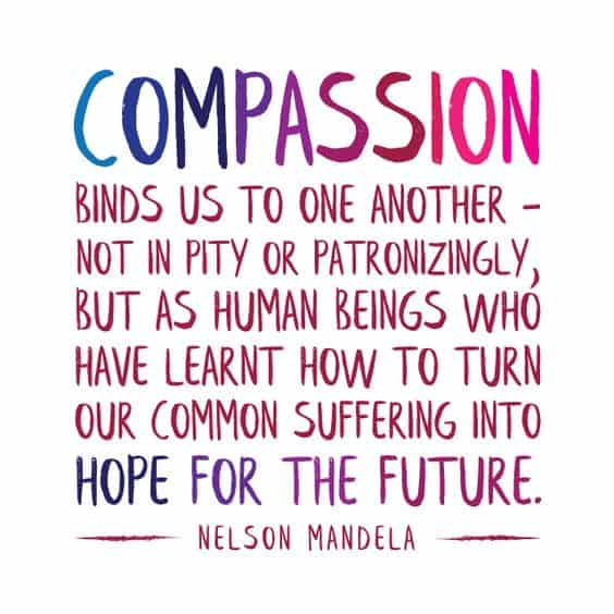 nelson mandela quotes about compassion and hope
