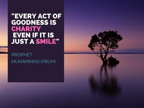 prophet muhammad quotes about smile