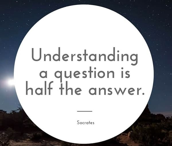 socrates quotes about understanding