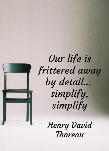 thoreau quotes simplicity